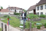 Inauguration des jardins/lancement du permis de végétaliser l'espace public