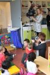 Reportage Canal Coquelicot au jardin d'enfants le 30 mars 2011